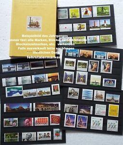 BUND-2013-Briefmarken-Auswahl-aus-dem-Jahrgang-2013-in-Postfrischer-Erhaltung