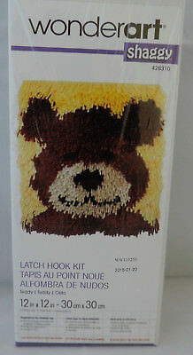 12 by 12 Bumblebee Spinrite Wonderart Latch Hook Kit