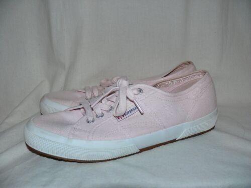 Informales Rosa Lona De Light Cordones Superga Claro Zapatos Zapatillas xz70wBzXq