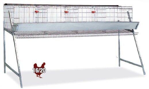 Gabbia per galline ovaiole, capienza circa 20 capi  CONSEGNA PRESSO NOSTRA SEDE