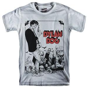 DYLAN-DOG-T-shirt-Italian-Horror-comic-1986