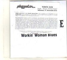 (DR780) Valerie June, Workin Woman Blues - 2012 DJ CD