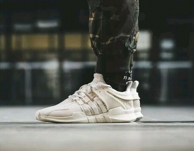 5be21e5c86f1a adidas By9586 Chalk White off White EQT Support ADV Mens Size 12 for ...
