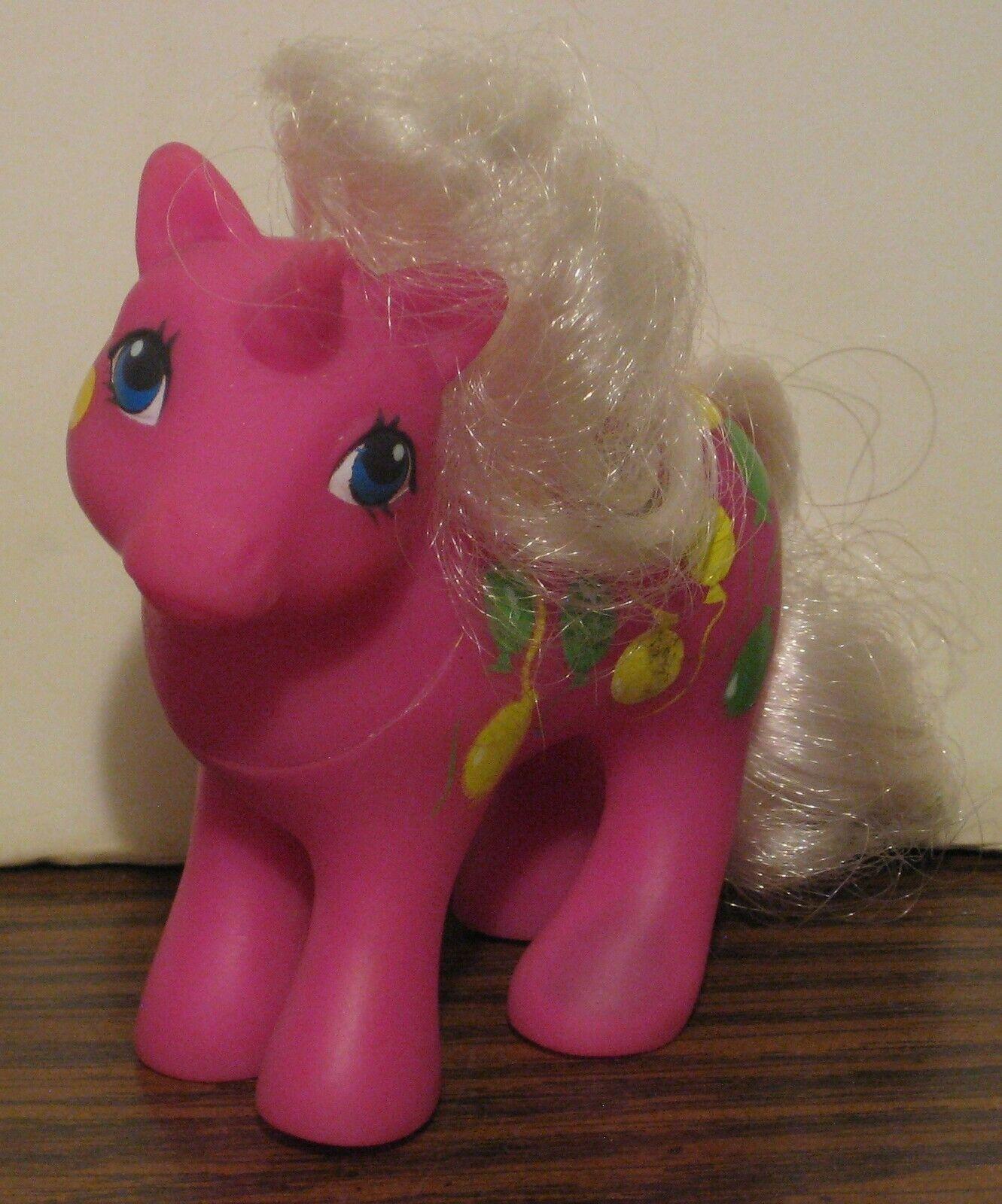 Min lilla ponny G1 två gånger så fin bebis Upp och iväg TAF Unicorn Mycket sällsynt 1989