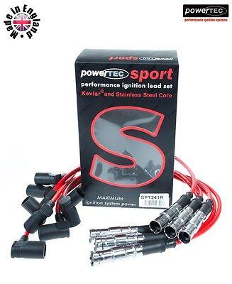 Powertec Sport 8mm Accensione Lead Wire Del Cavo Mercedes E G S Sl 260 300 M103 M104-mostra Il Titolo Originale
