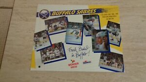 1988-89 Hostess Buffalo Sabres NHL Hockey Set of 30 in Album with Team Picture