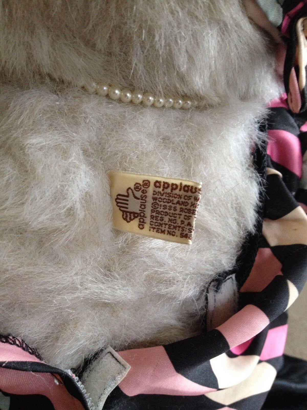 Robert Raikes 1986 Limited Edition Edition Edition Wooden Bear , 1920s Flapper ,Maude 978538