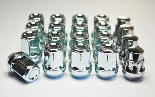 Set De 20 Inc de bloqueo NUTS 19 Mm Hexagonal De Aleación De Tuercas De Rueda taquillas M12 X 1.25