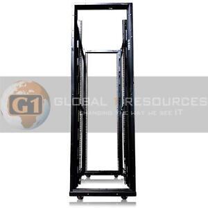 Dell-APC-AR3100-SX-Netshelter-Enclosure-42U-Server-Rack-Cabinet-Frame