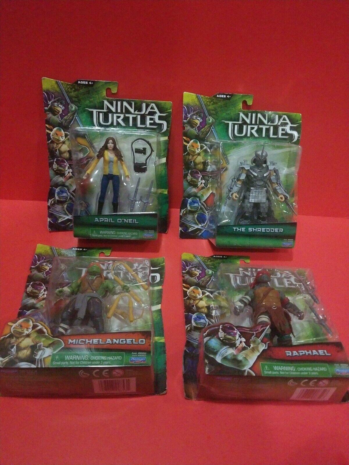 Teenage Mutant Ninja Turtles Movie 2014 Shredder April Mikey