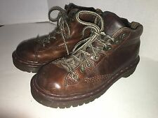Dr. Martens Men's Size 6  Brown Air Wair Leather Shoes Boots Air Cushiod Sole