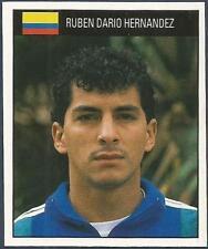 ORBIS 1990 WORLD CUP COLLECTION-#365-COLOMBIA-RUBEN DARIO HERNANDEZ