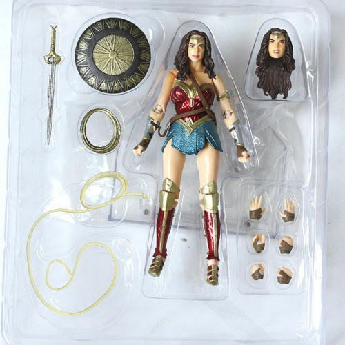 Mafex NO 48 Wonder Woman DC Comic Action Figure Collection Figurines Medicom Toy