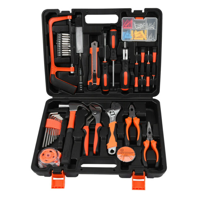 500pc Hand Tool Socket Set Home Repair Maintenance DIY Kit Box Case Multi Tools