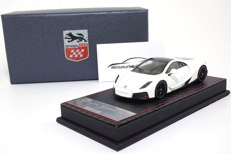 F025-02 - FrontiArt GTA Spano - Weiß - 1 43  | Mangelware