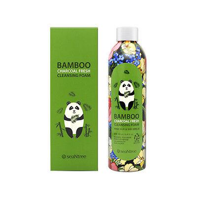 [SEANTREE] Bamboo Charcoal Fresh Cleansing Foam 250ml / Moisture foam