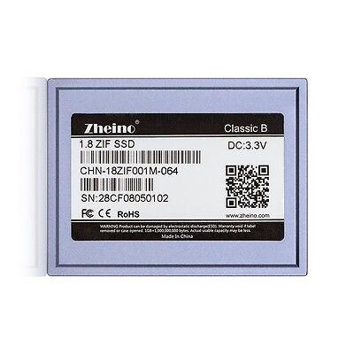 """1.8"""" ZIF 40 pin SSD 64GB für iPod Video 5 5.5 Ipod Classic 6th&7th gen MK1634GAL"""