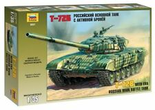 ZVEZDA 3551 RUSSIAN MAIN BATTLE TANK T-72B WITH ERA SCALE MODEL KIT 1/35