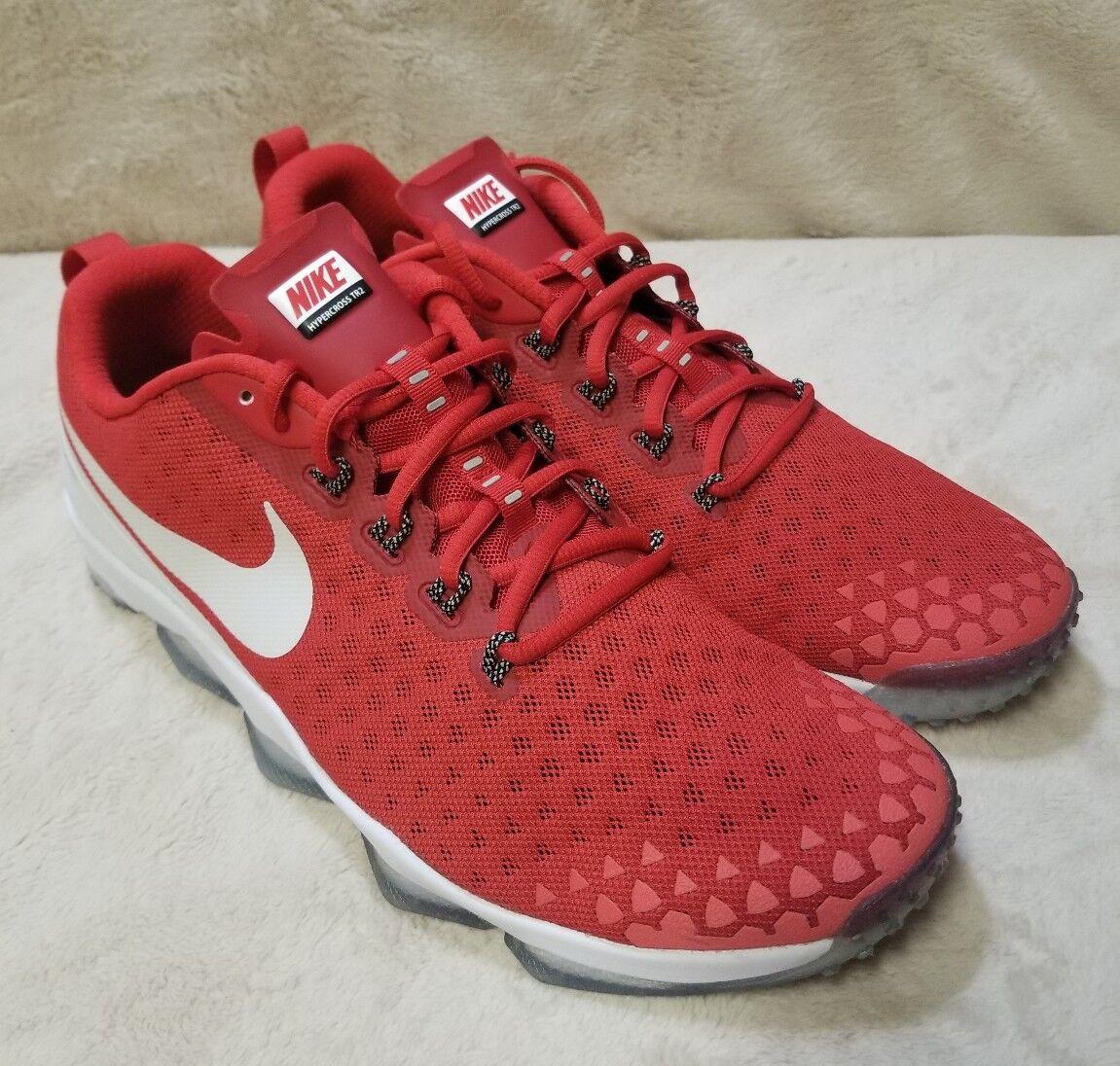 Nike Zoom Hypercross TR2 University Red-White 749362-610 Men's Size 12