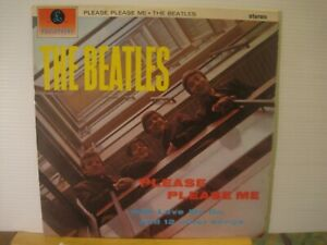THE-BEATLES-please-please-me-PARLOPHONE-stereo-PCS-3042-freeUKpost