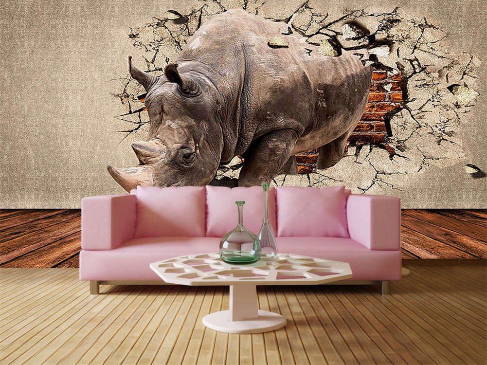 Rushed Out Of Trap 3D Full Wall Mural Photo Wallpaper Printing Home Kids Decor
