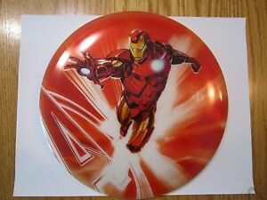 Avengers Iron Man Splatter Dynamic Disk Frisbee Golf DyeMax Marvel Comics NEW 02