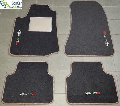 4 Block...........94 Decori ALFA ROMEO 159 Tappeti AUTO Tappetini su misura