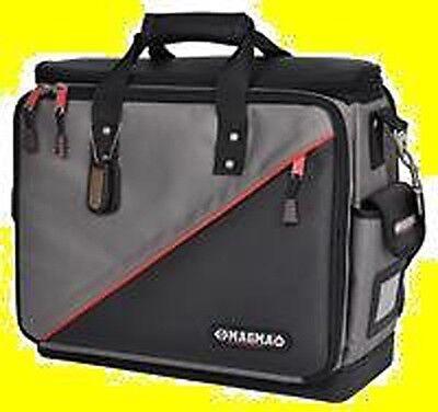 Primat Elektriker Tasche Koffer Werkzeugtasche 400x180x310 mm echtes Rindsleder