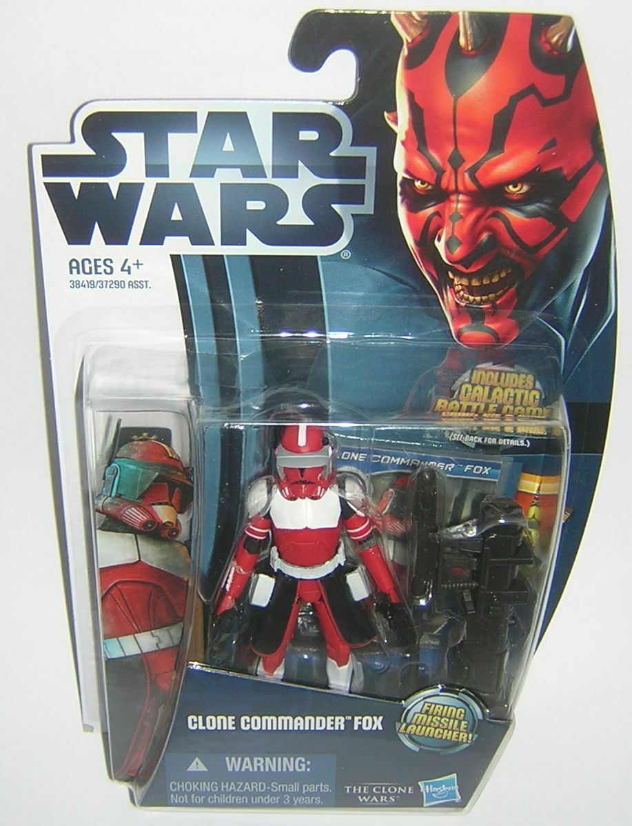 Star Wars Clone Wars CW18 CW18 CW18 Clone Commander Fox Movie Heroes b48b8c