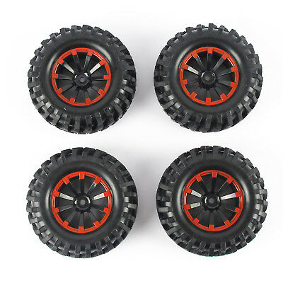 """4pcs 1.9/"""" Tires 96mm Wheel 12mm Hex Hub For RC 1:10 Rock  Crawler Car From USA"""