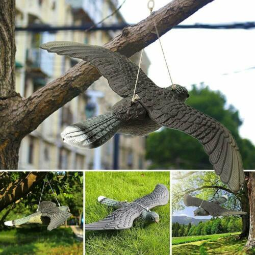 Faucon Anti-Pigeon décoration épouvantail Oiseaux Pigeon alarmistes 34.5x52x9cm