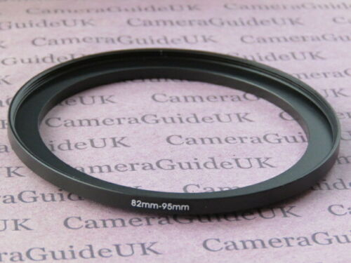 82mm to 95mm Male-Female Stepping Step Up Filter Ring Adapter 82mm-95mm