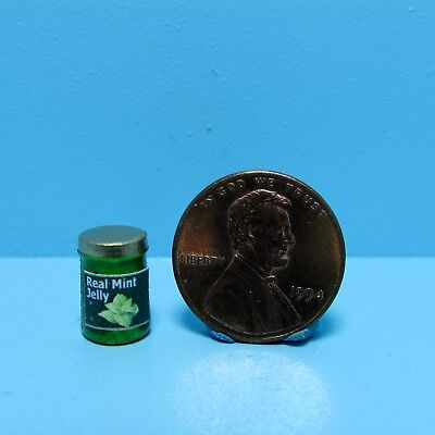 Dollhouse Miniature Replica Jar of Smuckers Strawberry Preserves Jelly ~ G153