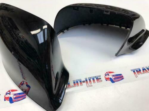 T5.1 T6 Gloss Black Mirror Covers Caps ABS Plastic Transporter 10 Onwards