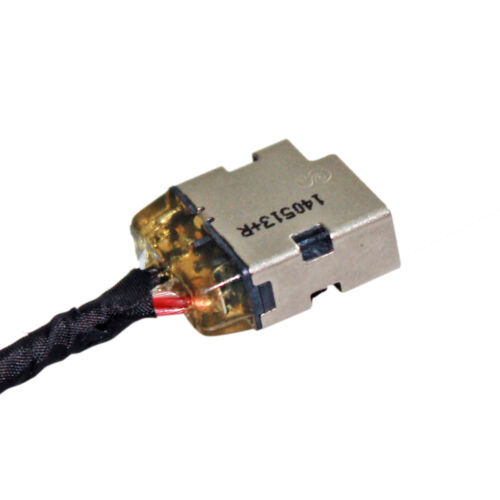 DC POWER JACK WITH CABLE CONNECTOR PORT FOR HP 15-g125ds 15-g126ds 15z-g100 cto