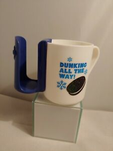 Plastic Oreo Cup Mug With Removeable Cookie Holder Dunking All The Way 2019 Ebay