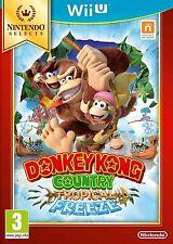 Wii U Donkey Kong Country Tropical Freeze Selects Nuevo Precintado Pal España