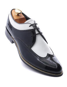 White Patent Leather Dress Formal Shoes