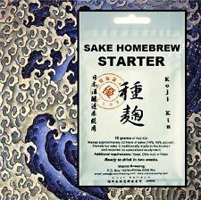 SAKE KIT KOJI KIN STARTER 10g COMPLETE KIT for GOURMET SAKI RICE WINE 14-19%