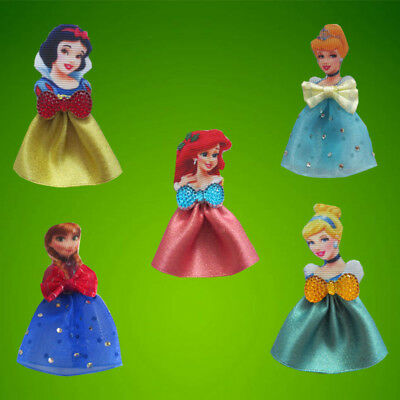 200 BLESSING Good Girl Crystal Shoe Bow Clip Princess Cinderella Frozen Mermaid