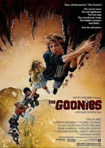 The Goonies Movie Film Print Poster Picture A3 A4 Retro Vintage Posters