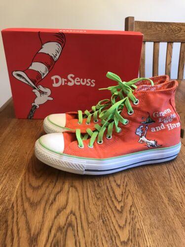 Converse All Star Dr Seuss Green Eggs And Ham Shoe