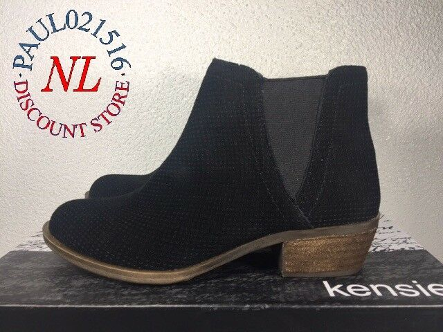 Kensie Women's Gallagher Bootie Short Ankle Boots Suede ~ New Model ~ Size 6
