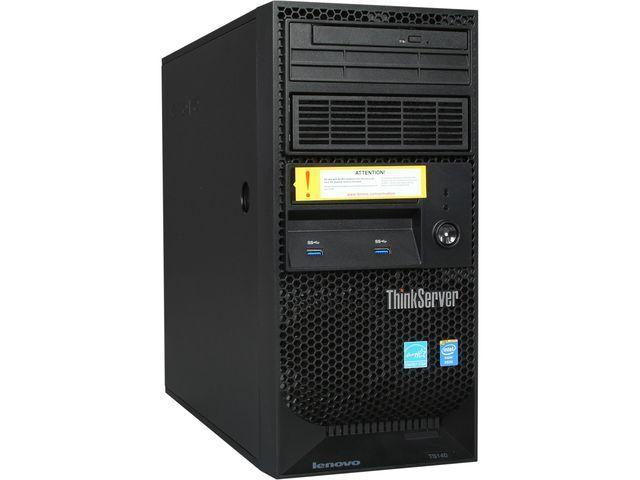 Lenovo ThinkServer TS140 Intel Xeon E3-1225 4GB 500GB 7200RPM 3.5