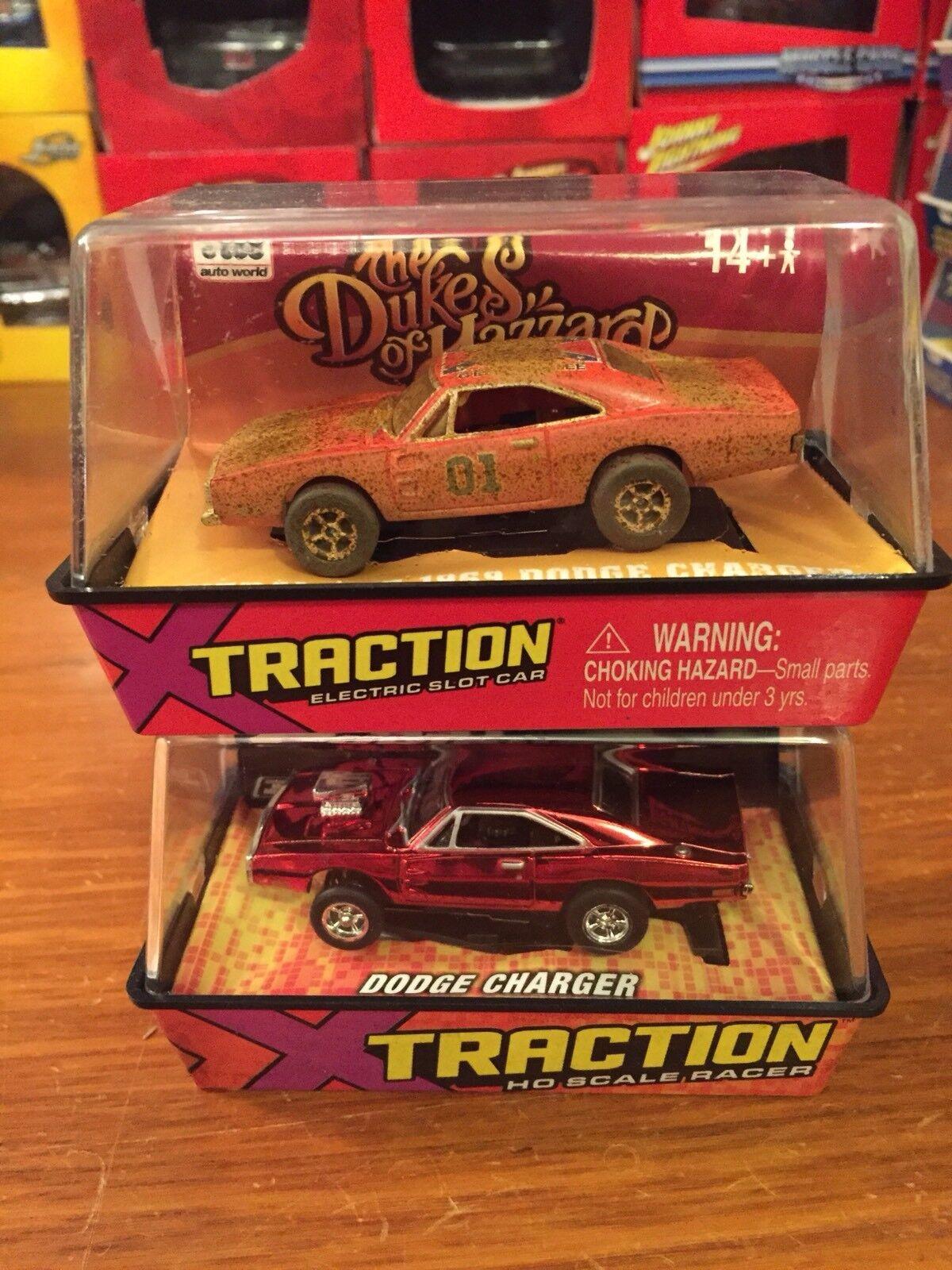 Johnny Lightning Slot Cars Dirty General Lee & F&F Dodge Charger
