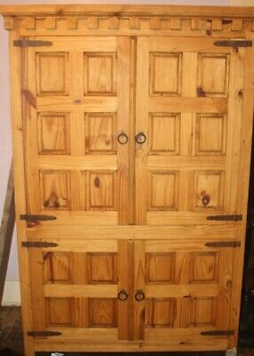 Large Wood Armoire