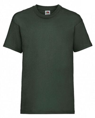 Kinder T-ShirtFruit of the Loom165g WareFarben Größen wählbar  158.01