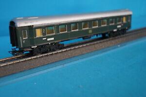 Marklin 4037 DB Express Coach Green 2 kl. TIN PLATE OVP