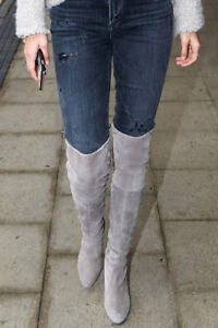 f7f50bdbcb4 NEW  Stuart Weitzman Sz 11 M Hiline Over The Knee Boot  798 Topo ...