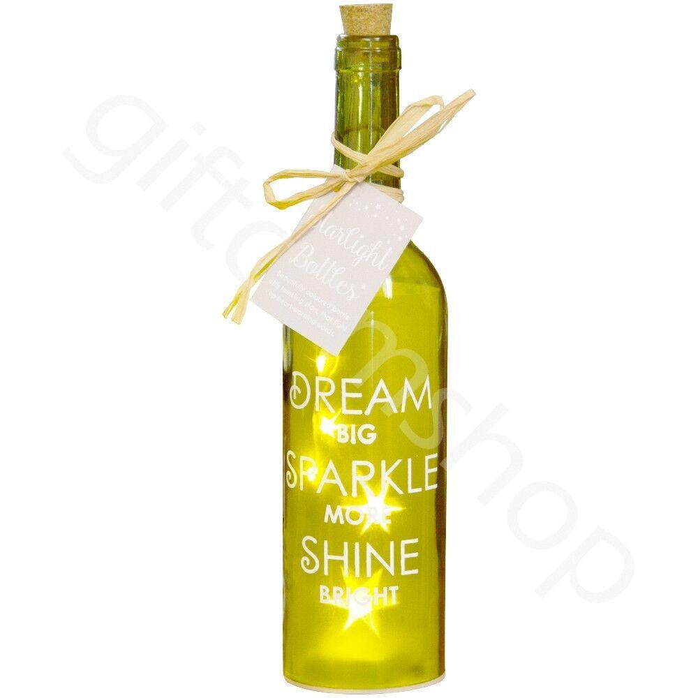 Dream Big Sparkle More - Starlight Bottle LED Jar